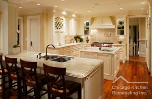 We remodel it all in Chicago and especially we loves to remodel kitchens.